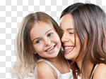Сlipart mum teeth hugging mother smiling photo cut out BillionPhotos