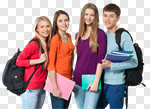 Сlipart Student Teenager College Student University Multi-Ethnic Group photo cut out BillionPhotos