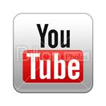 Сlipart youtube you tube Social Media like social button vector icon cut out BillionPhotos