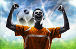 Сlipart soccer brazil brasil triumphant winner   BillionPhotos