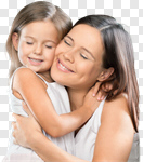 Сlipart mother daughter bio hug charming photo cut out BillionPhotos