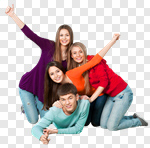 Сlipart Student University College Student Group Of People Isolated photo cut out BillionPhotos