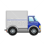 Сlipart truck delivery lorry traffic trailer vector icon cut out BillionPhotos