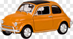 Сlipart Car Old Small Traffic Orange photo cut out BillionPhotos