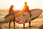 Сlipart Surfing California Beach Sunset San Diego - California photo  BillionPhotos