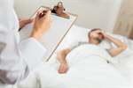 Сlipart bed patient doctor clipboard china photo  BillionPhotos