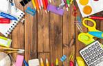 Сlipart school supplies back notebook background closeup   BillionPhotos