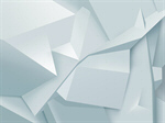 Сlipart polygon white background abstract faceted vector  BillionPhotos