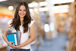 Сlipart Student University College Student Female Book   BillionPhotos