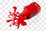 Сlipart nail polish nailpolish object spilling photo cut out BillionPhotos