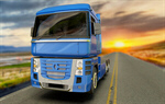 Сlipart Truck Transportation Semi-Truck Freight Transportation Road 3d  BillionPhotos