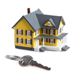 Сlipart House Key Residential Structure Real Estate Isolated photo  BillionPhotos