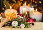 Сlipart Christmas Candle Advent Wreath Holiday   BillionPhotos
