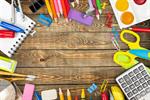 Сlipart school accessories color background closeup   BillionPhotos