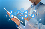 Сlipart health data touch background doctor button   BillionPhotos