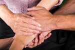 Сlipart Nursing Home Senior Adult Human Hand Holding Hands Family photo  BillionPhotos