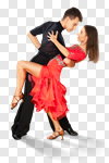 Сlipart Salsa Dancing Dancing Ballroom Couple Dancer photo cut out BillionPhotos