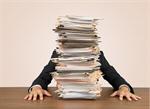 Сlipart Emotional Stress Paperwork Frustration File Working   BillionPhotos