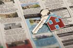 Сlipart Real Estate Newspaper House Key Sale photo  BillionPhotos