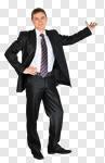 Сlipart Men Business Presentation Standing Businessman photo cut out BillionPhotos