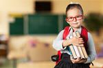 Сlipart Child with book book school backpack blackboard   BillionPhotos