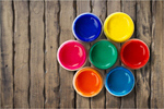 Сlipart Color Wheel Paint Can Paint Printing Press Can   BillionPhotos