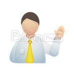 Сlipart White Collar Worker people men business businessmen vector icon cut out BillionPhotos