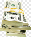Сlipart Currency Stack Money Roll Dollar US Paper Currency photo cut out BillionPhotos