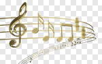 Сlipart Music Musical Note Sheet Music Sound Treble Clef 3d cut out BillionPhotos