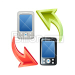 Сlipart Phones Mobile Phones Call Calling International Call vector icon cut out BillionPhotos