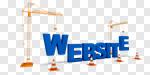 Сlipart Web Page Internet Construction Site Construction Development 3d cut out BillionPhotos