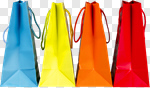Сlipart Shopping Shopping Bag Bag Retail Multi Colored photo cut out BillionPhotos