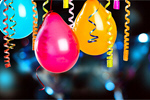 Сlipart Balloon Birthday Party Celebration Pink   BillionPhotos