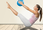 Сlipart Pilates Women Exercising Gym Sport   BillionPhotos