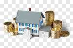Сlipart House Currency Residential Structure UK Real Estate photo cut out BillionPhotos