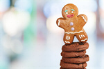 Сlipart Christmas Cookie Food Gingerbread Man Candy Holiday   BillionPhotos