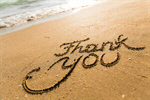 Сlipart Thank You Gratitude Beach Sand Advice photo  BillionPhotos