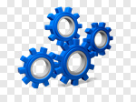 Сlipart Gear Symbol Three-dimensional Shape Industry Business 3d cut out BillionPhotos