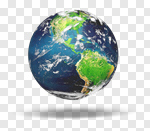 Сlipart Earth Globe Asia World Map Map 3d cut out BillionPhotos