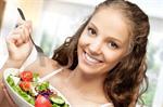 Сlipart Eating Women Healthy Eating Salad Dieting   BillionPhotos