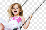 Сlipart Child Playing Playground Little Girls Swing photo cut out BillionPhotos