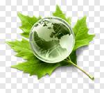 Сlipart Alternative Energy Environment Earth Globe Leaf photo cut out BillionPhotos