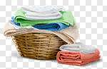 Сlipart Laundry Towel Laundry Basket Basket Linen photo cut out BillionPhotos