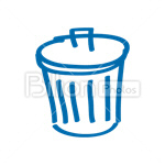 Сlipart basket bin can conservation container vector icon cut out BillionPhotos