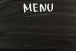 Сlipart Menu Blackboard Restaurant Food Sign photo  BillionPhotos