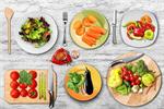 Сlipart food dishes top salad view kitchen   BillionPhotos