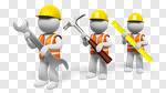 Сlipart Work Tool Three-dimensional Shape People Plumber Repairing 3d cut out BillionPhotos