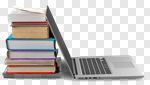 Сlipart Book Education Laptop Computer Stack photo cut out BillionPhotos
