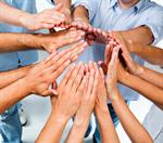 Сlipart Human Hand Teamwork People Connection Partnership photo  BillionPhotos