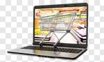 Сlipart E-commerce Shopping Cart Shopping Internet Shopping Basket 3d cut out BillionPhotos